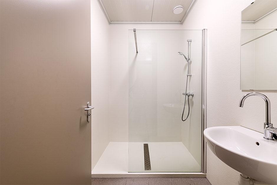 Polyester douche verblijfsruimte