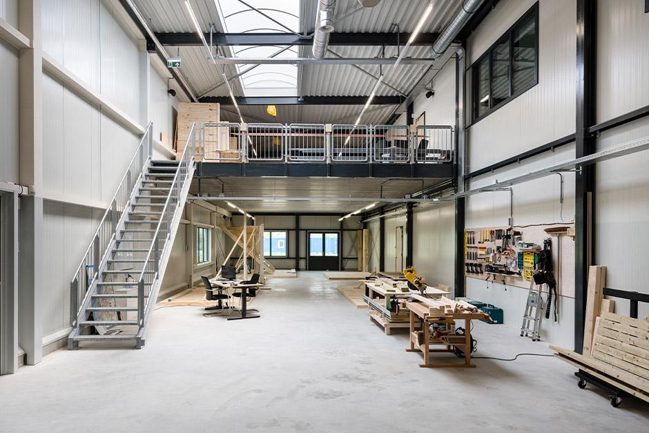 Nieuwbouw kantoorpand JobXion, Geldermalsen