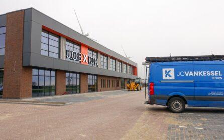 JCVANKESSEL Bouw - nieuwbouw kantoor JobXion