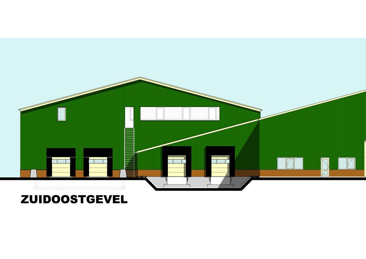 Gevelfragment Fruitbedrijf Van Dijk, Ophemer