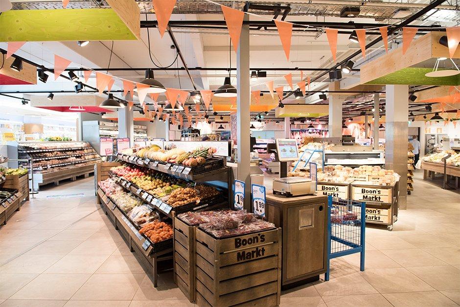 Uitbreiding supermarkt