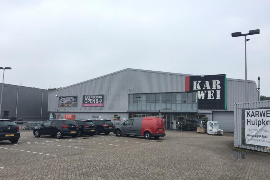 Karwei bouwmarkt Breda - huidige situatie