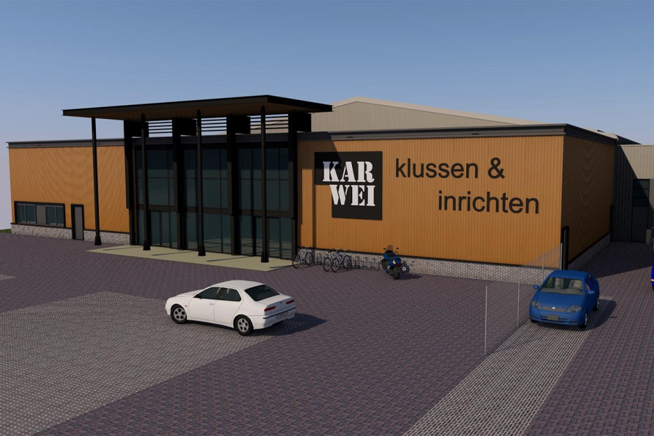 Karwei bouwmarkt Breda - ontwerp winkel
