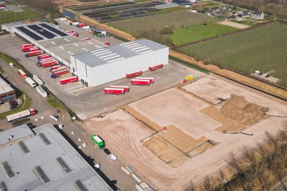 Van den Haak - Transmission luchtfoto nieuwbouw