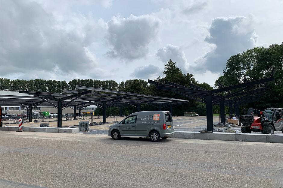 Solar Carports Volvo Car Nederland